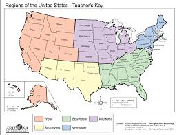Unite States Map by Map Regions Of The United States Thirdgradetroop Com