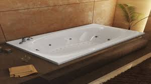 Jetted Tub Shower Combo 5 Foot Soaker Tub Shower With Whirlpool Tub Surround Small Jetted