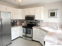 Antique Painted Kitchen Cabinets Best White Paint For Kitchen Cabinets Best Painting Kitchen