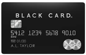 Barclays Credit Card Business Mastercard Black Card Luxury Card