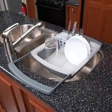 Plastic Dish Drying Rack Collapsible Dish Drainer Progressive International Cdd 20gy