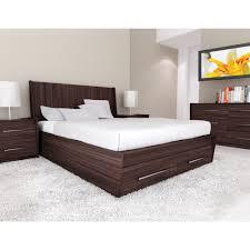 White Modern Bedroom Furniture Set Bedroom Elegant Interior Bedroomating With Black Wooden Bedframe