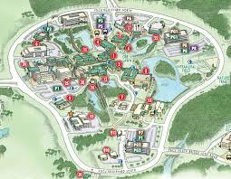 Map Florida Gulf Coast by Campus Maps