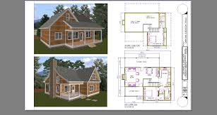 download house plans with 2 bedroom loft house scheme