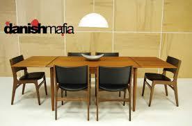Teak Dining Room Set Mid Century Danish Modern Teak Dining Complete Set Table U0026 6