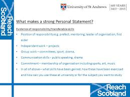 Examples of Personal Statements   Studential com Personal     logo