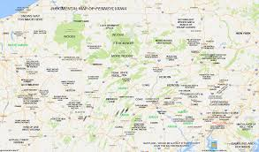 Virginia On Map by Judgmental Maps