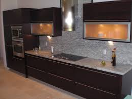 Dark Grey Cabinets Kitchen Kitchen Stainless Steel Countertops Kitchen Backsplash Ideas For