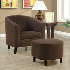 Colorful Accent Chairs by Accent Chair With Ottoman Decofurnish