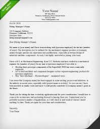 Best Software Developer Resume by Engineering Cover Letter Templates Resume Genius