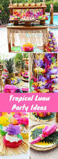 easy luau party ideas idea plans luau party and party planning