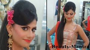 indian wedding makeup vibrant enement look plete hair and makeup you