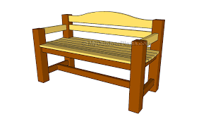 outdoor wood bench plans treenovation