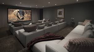 room amazing modern media room cool home design simple at modern