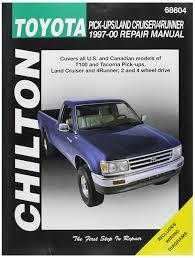 amazon com chilton toyota pick ups land cruiser 4runner 1997 2000