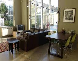 living room l shaped living dining room furniture layout ideas