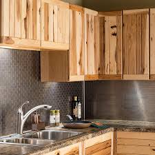 peel and stick matted metal backsplash tiles aspect
