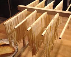 Kitchen Aid Pasta Maker by Hardwood Pasta Drying Rack Designed To Work With Kitchenaid
