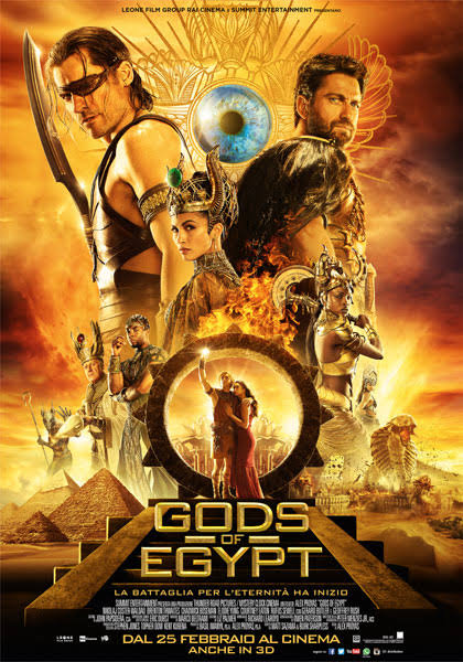 Gods of Egypt in 3D 2016 Full Length Movie