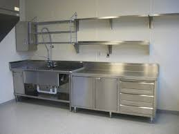 Complete Kitchen Cabinets Fashionable Stainless Steel Kitchen Cabinets Modern Kitchen 2017