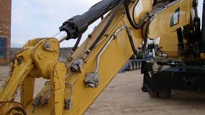 caterpillar m318 d excavadora cat pinterest
