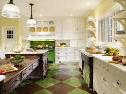 galley kitchen with refrigerator and ceiling light for kitchen