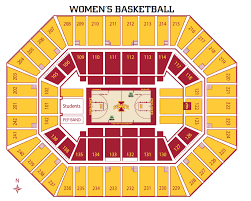 Map Of Iowa State by Iowa State Athletics