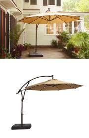 Offset Patio Umbrella by Shop Garden Treasures Red Offset Patio Umbrella Common 10 5 Ft W