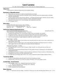 Summary Of Qualifications Sample Resume by Resume Examples Examples Resume Templates For Engineers
