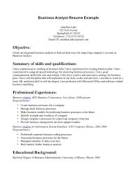 Sample Career Objective Statements Opening Statement For Resume