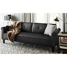 furniture futon full size mattress faux leather futon futon