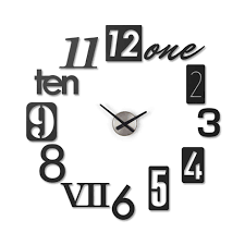 Unique Desk Clocks by A Set Of 12 Metal Stamp Numbers Come Together To Create A Unique