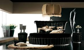 black bedroom furniture as an elegant design idea interior