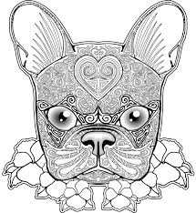 peaceful design ideas dog coloring pages for adults 10 free dog
