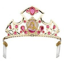 Aurora Halloween Costume Sleeping Beauty Tiara Kids Disney Princess Aurora Halloween