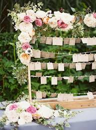 Shabby Chic Wedding Reception Ideas by Wedding Reception Ideas Beautiful Escort Cards And Seating Charts