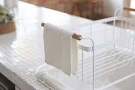 Plastic Dish Drying Rack Yamazaki Usa Tosca Over The Sink Dish Drainer Rack U0026 Reviews Wayfair
