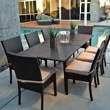White Resin Wicker Outdoor Patio Furniture Set - patio sears outlet patio furniture for best outdoor furniture