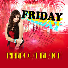black friday artwork rebecca black u2014 friday u2014 listen watch download and discover