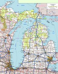 Map Of Cities In Usa by Michigan Road Map Jpg