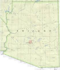 Payson Arizona Map by Map Of Arizona