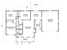 Split Level Ranch Floor Plans 100 3 Bedroom Ranch Floor Plans 3 Bedroom 2 Bath Ranch