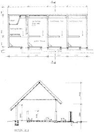piggery housing plan house design plans