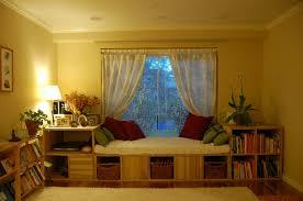 beauteous u shaped bay window seat design ideas with soft blue splendid bay window seat