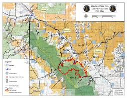 Southwest Colorado Map by Live Blog Hayden Pass Fire Now 60 Percent Contained