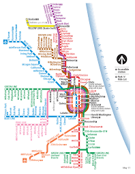 Chicago Line Map by Behind The Scenes Evolution Of The Chicago Cta Transit Maps