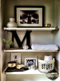 Bathroom Shelving Ideas by Over The Toilet Decorating Home Pinterest Toilet