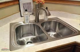Moen Kitchen Faucet Assembly by Diy Moen Kitchen Sink U0026 Faucet Install Everyday Shortcuts