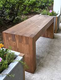 Building Outdoor Wood Furniture by Best 25 Outdoor Wooden Benches Ideas On Pinterest Wood Bench
