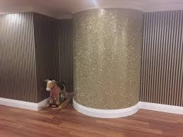 Wallpapers Designs For Home Interiors by Glitter Wall Paint Bedroom Wall Ideals Pinterest Glitter